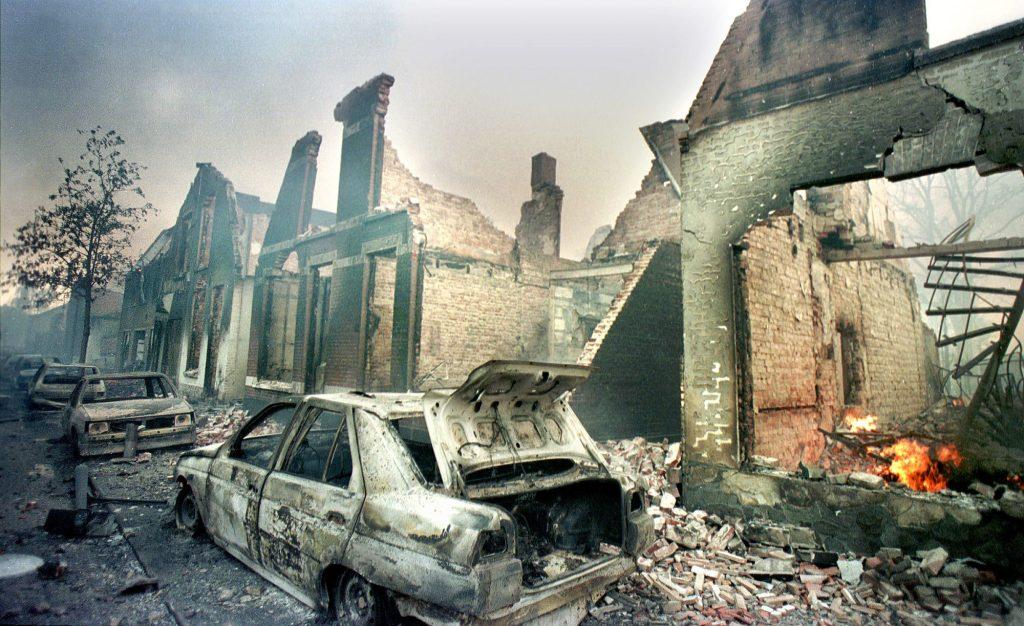 explosion damage