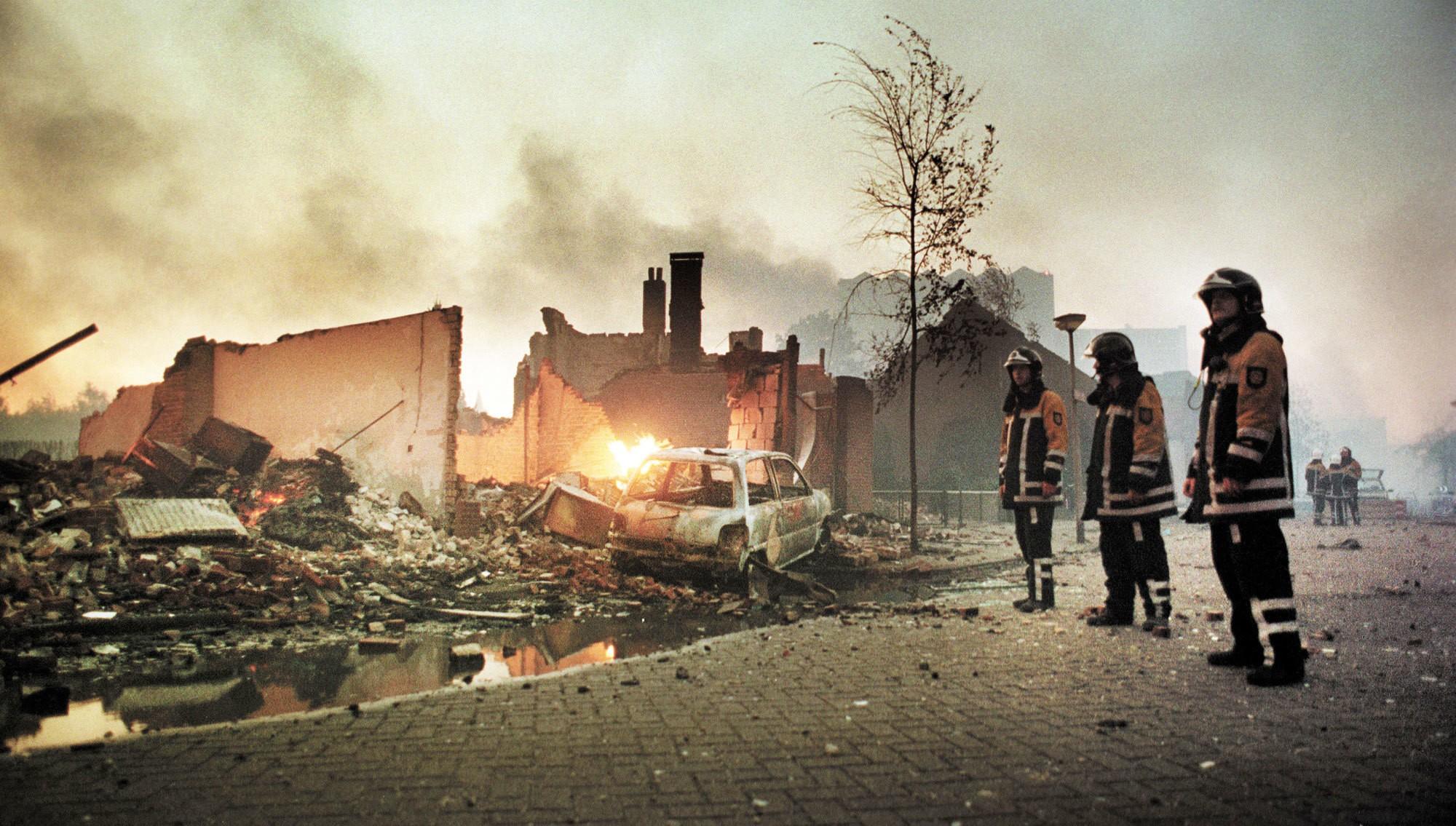 Enschede firemen